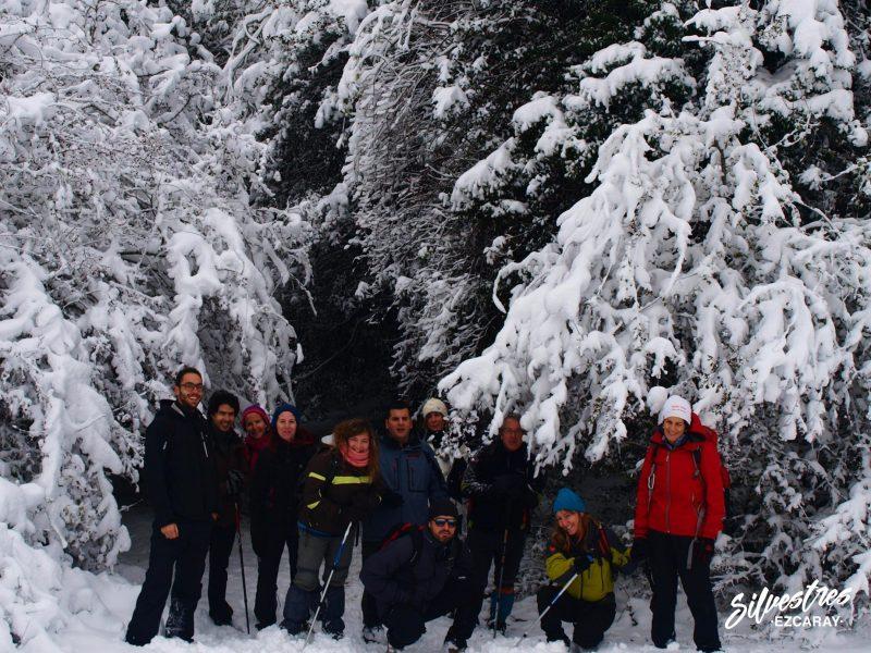 grupos_senderismo_ezcaray_acebal_dehesa_valgañón_paisajes_nieve